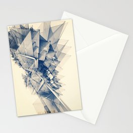 Polygon Tower Stationery Cards