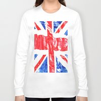 uk Long Sleeve T-shirts featuring UK by arnedayan