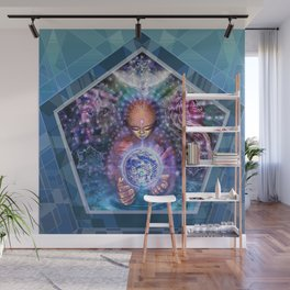 Earth Child Wall Mural