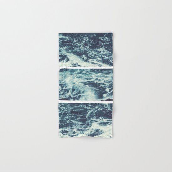 Saltwater Tryptych Hand & Bath Towel