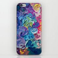 notebook iPhone & iPod Skins featuring Guardian's Notebook by Tanya Shatseva