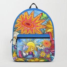 Angelic Flowers Backpack