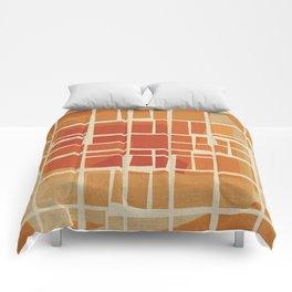 Fragmented Sun Comforters