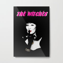 Grand High Witch Metal Print