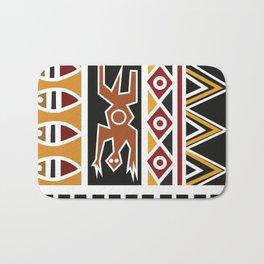 African Tribal Pattern No. 20 Bath Mat