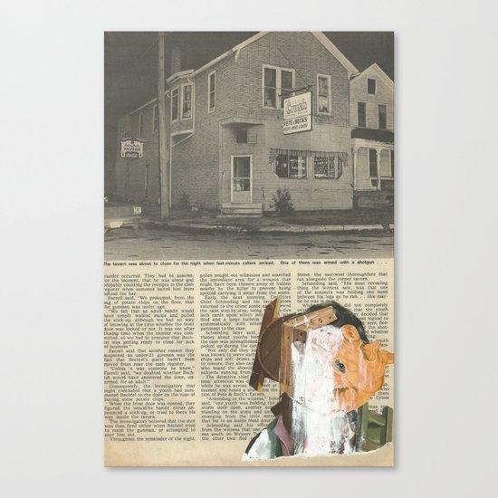 Gouge  Canvas Print