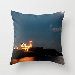 Nubble Light Throw Pillow