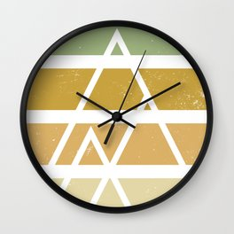 Desert color landscape Wall Clock