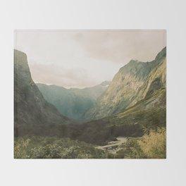 Milford Sound Throw Blanket