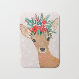 Christmas Deer Bath Mat
