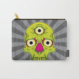 3 Eyed Jackass (green) Carry-All Pouch
