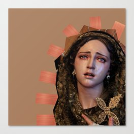 Our Lady of Sorrows. Canvas Print