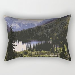 Waterton Lakes National Park Rectangular Pillow