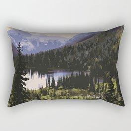Waterton Lakes National Park Rectangular Pillow