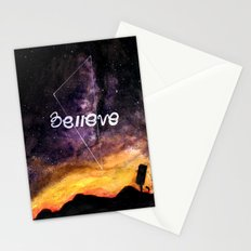 don't stop believing Stationery Cards