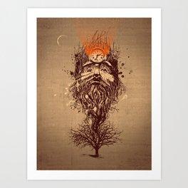 Human Nature Art Print