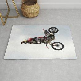 Motocross Front Flip Stunt Jump Rug