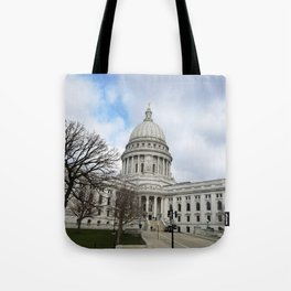 Wisconsin State Capitol Building - Madison, WI, USA Tote Bag