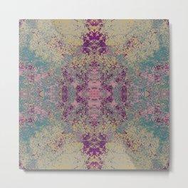 Abstract Colorful Bohemian Chic Art - Rambala Metal Print
