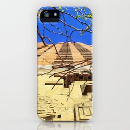 Reds & Blues iPhone Case