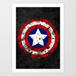 Captain's Shield Art Print