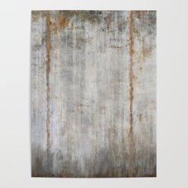 Concrete Wall Poster