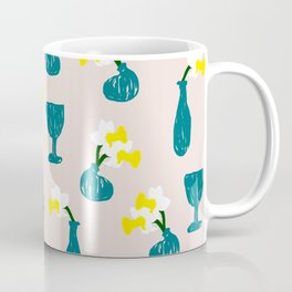 Daffodil Scribble Coffee Mug