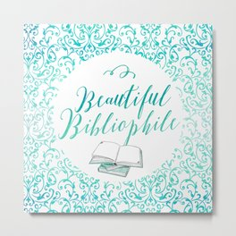 [Requested] Beautiful Bibliophile Metal Print