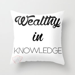 WEALTHY Throw Pillow