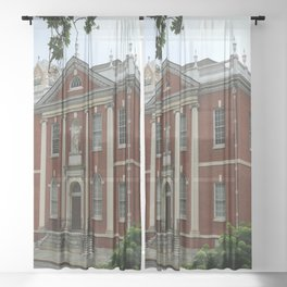Old Town Philadelphia Sheer Curtain
