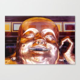 Shiny, Happy Buddha  Canvas Print