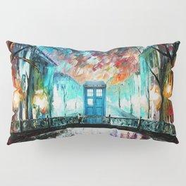 Tardis With Beautiful Starry Night Pillow Sham