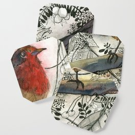 Just Be: Robin Red-Breast Coaster