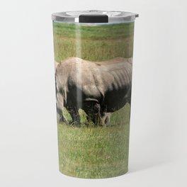 Group Of White Rhino Travel Mug