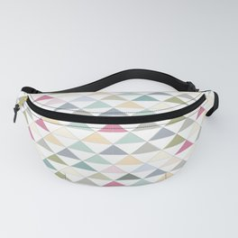 Colorful Triangle Tile Pattern Fanny Pack