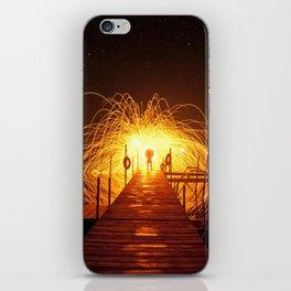 Dock Spin iPhone Skin