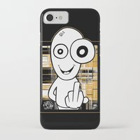 walter white iPhone & iPod Cases featuring Walter by ouchgrafix urban art
