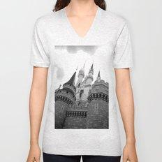 Disney Castle Unisex V-Neck
