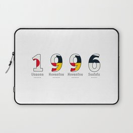1996 - NAVY - My Year of Birth Laptop Sleeve