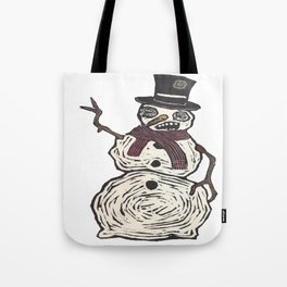 Snow Dude Tote Bag