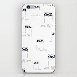 White Cat iPhone Skin