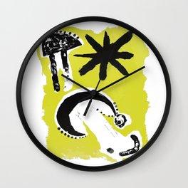 Joan Miro - Astrology III 1953 - Artwork for Wall Art, Prints, Posters, Tshirts, Men, Women, Youth Wall Clock