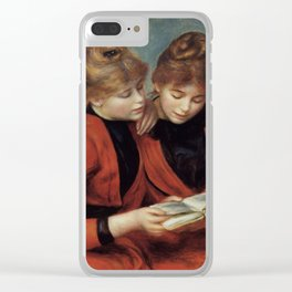 """Auguste Renoir """"The Two Sisters"""" Clear iPhone Case"""