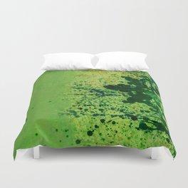 Monochrome Green Duvet Cover