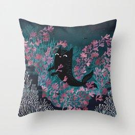 Undersea Throw Pillow