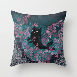 Undersea Throw Pillow