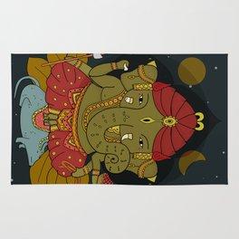 Shri Ganesha Rug