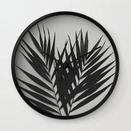 Palm Leaves #5 #foliage #decor #art #society6 Wall Clock