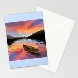 Canoe Stationery Cards