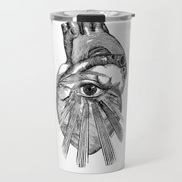 Engraving - Eyed Heart Travel Mug